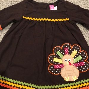 Good Lad Dresses - Toddler Girl Thanksgiving Turkey 🦃 Dress!